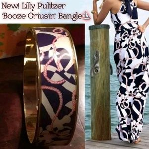 "New! Lilly Pullitzer ""Booze Criusin"" Bangle!⛵"